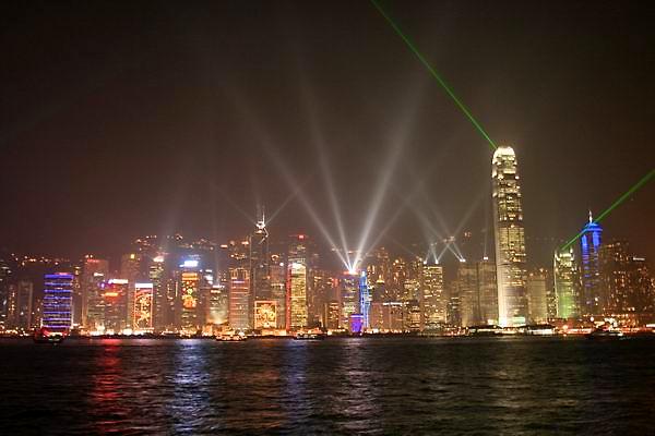 Симфония света в Гонконге