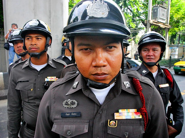 Таиландский полицейский
