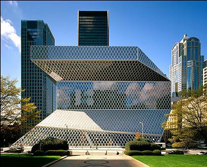 Центральная библиотека Сиэтла. США.