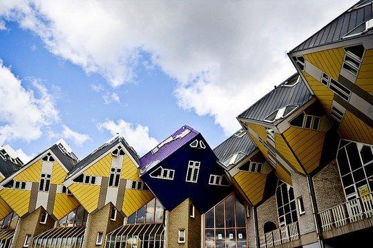 Кубические дома (Kubuswoning) в Роттердаме