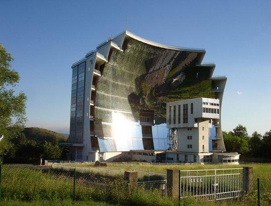 Солнечная печь. Оделио, Франция