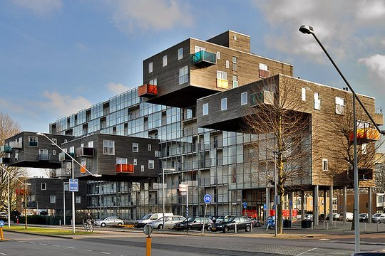 Wozoco Apartments. Амстердам, Голландия