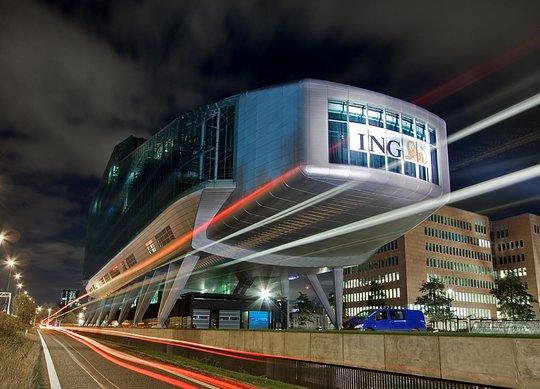 Штаб квартира финансовой компании ING