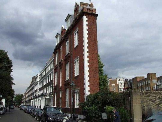 Тонкий жилой комплекс. Лондон, Англия
