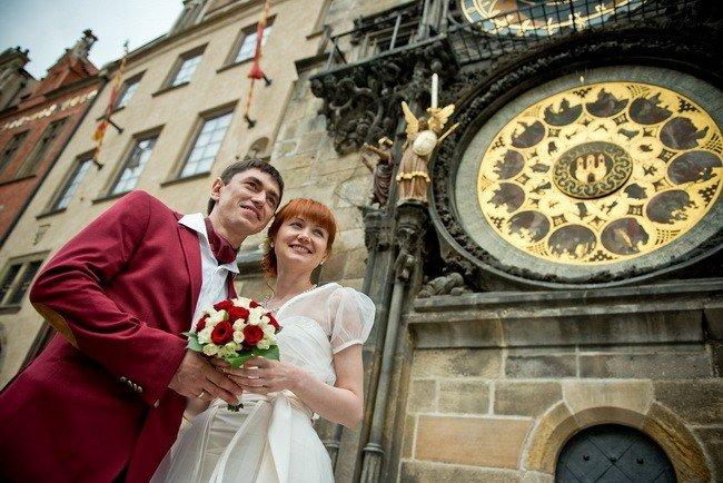 Прага свадьба в ратуше 55