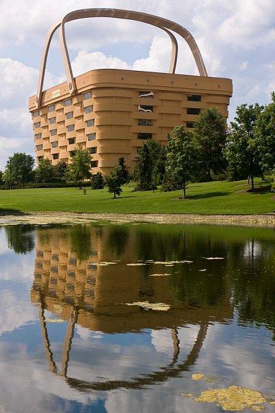 Здание-корзина - Офис строительной компании Лонгабергер