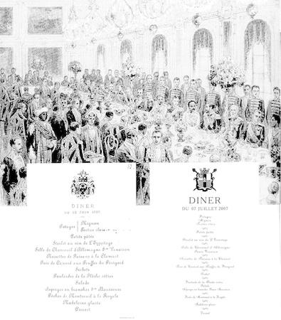 Парадный обед в честь Сиамского Короля