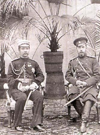 Имепратор России Николай II и Король Таиланда Рама V Чулалонгкорн